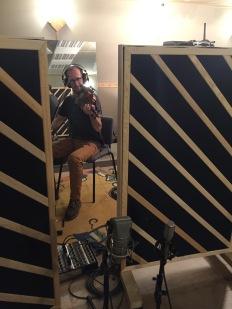 Enregistrement studio avec Glenn Arzel & Claire Nivard - Octobre 2019
